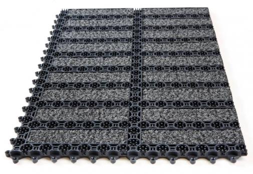 Грязезащитное модульное покрытие Obex Prior Forma Volcano 16 мм/м2