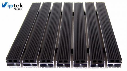 Грязезащитные алюминиевые решетки KP-20