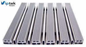 Грязезащитная алюминиевая решетка с ПВХ-вставками KPS-20