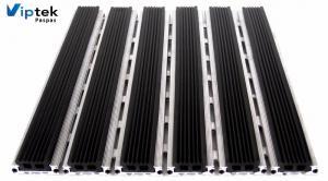 Тонкая грязезащитная алюминиевая решетка с термостойкими ПВХ-вставками SP-14