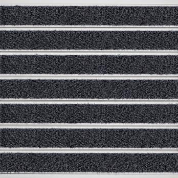 Грязезащитный ковёр Milliken OBEX BAR MONO 16 мм