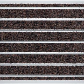 Алюминиевая решетка Milliken OBEX BAR CUT - GYC26 BROWN 11 мм