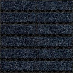 Модульное покрытие Milliken OBEX GRID GYC123 DARK BLUE 16MM closed