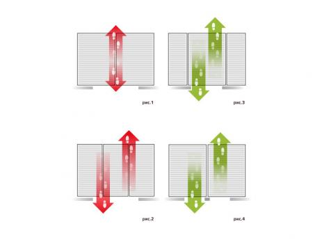 Грязезащитная алюминиевая решетка СТРИТ Стандарт 40 Резина + Ворс