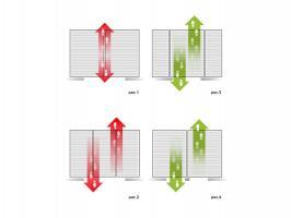 Грязезащитная алюминиевая решетка СТРИТ Стандарт 40 Резина + Ворс + Скребок